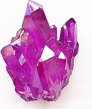 YSJJSQZ Cristal Brut 65G Titanium Fuchsia Crystal