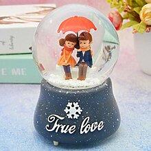 ytlsd Boule De Cristal De Noël Amoureux des