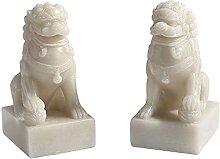 YTO Ornements de Lion de Jade, décoration de la