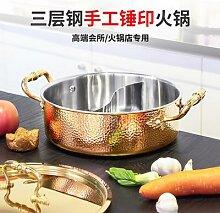 Yuanyang – marmite à soupe en acier inoxydable