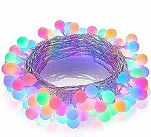 YuKeShop Guirlande lumineuse 100 LED 10 m avec