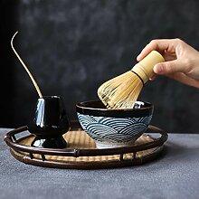 yunge Ensembles de Matcha en céramique Fouet à