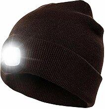 Yunt-11 LED Lighted Beanie Cap, Bonnet de Bonnet