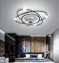 YUNZI Ventilateur Plafond avec Lumiere Et