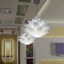 YUOKI99 Lampe Puzzle Lotus Abat-Jour IQ Plafond