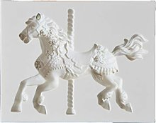 Yushu Moule en silicone en forme de cheval pour
