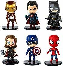 YUY Avengers Figurine Décoration De Gâteau