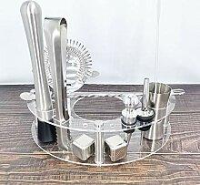 YXBDN 1-12 PCS Cocktail Shaker Set Kit de barman