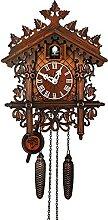 yxx Pendules à Coucou Clock Classique Allemand