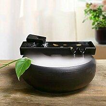 YXYOL Céramique Fontaine d'eau de Bureau, Zen