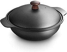YXYY Pot à ragoût en Fonte Japonais Sukiyaki Pot