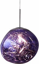 YXZN Moderne LED Melt Pendentif Lumière Lava