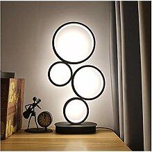 yywl Lampes de Table Lampe de Table à LED à 4