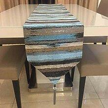 YYXLL Chemin De Table Simple Moderne De Couleur