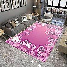 ZAZN Tapis Géométriques, Salon Décoratif, Table