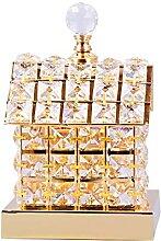 ZCCLCH Creative Romance Maison Cristal Lampe De