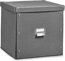 Zeller 17629 Boîte de Rangement 33,5x33x32cm en