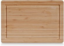Zeller 25219 Planche à découper, Bambou, Brun,