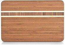 Zeller 25235 Planche à découper, Bambou, Brun,