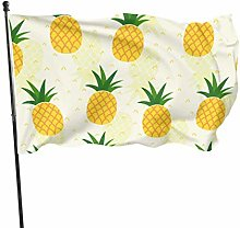 Zemivs sans Couture Tissu Textile Ananas Papier