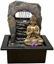 Zen'Light Fontaine Zen Dao Résine, Bronze, 21