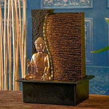 Zen Light Fontaine intérieur Bouddha Jati