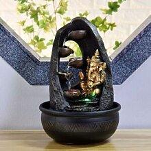 Zen Light Fontaine intérieur Bouddha Mystic
