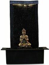 ZEN LIGHT Fontaine LED d'intérieur bouddha