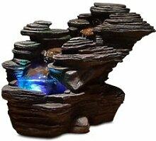 ZEN LIGHT Fontaine LED d'intérieur nature