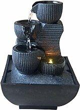 Zen Light Kini Fontaine d'Intérieur avec Pompe