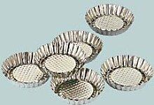 Zenker 3331 6 torteletts ungerolltem avec Bord