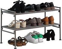 ZEQUAN Étagère à Chaussures en Fer forgé