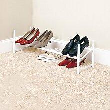 ZEQUAN Etagère à Chaussures Extensible et