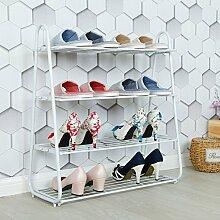ZEQUAN Fer Simple étagère à Chaussures Stockage