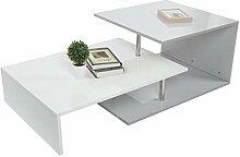 Zerone Table Basse à Haute Brillance, Table