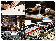 ZFANGY Contrôleur de Jeu Horloge Murale Design