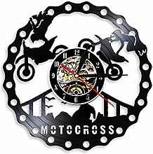 ZFANGY Décor Moderne Horloge Murale Trick