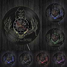 ZFANGY Disque Vinyle Horloge Murale Art Mural