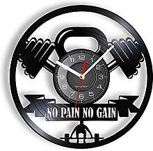 ZFANGY Haltère Haltérophilie Silencieuse Horloge