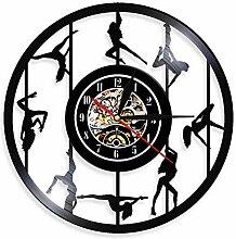 ZFANGY Pôle Danseurs Horloge Murale Exotique