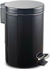 ZfgG Trash Can 12L-home Pédale De Type Poubelle