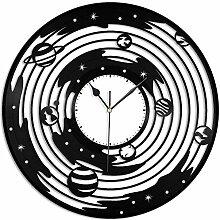 zgfeng Horloge Murale en Vinyle Horloge Murale en