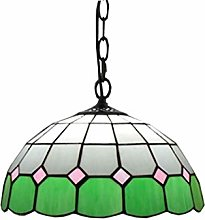 ZHANGDA 12 Pouces Suspension Lampe Tiffany Style