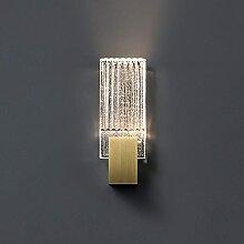 ZHANGDA Applique en Cristal Bulle LED 3000K