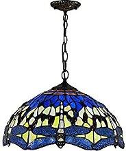 ZHANGDA Lampe à Suspension de Style Tiffany 16