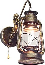 ZHANGDA Lampes murales industrielles rétro avec