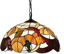ZHANGDA Tiffany Style Pendentif Lampe Salon Étude