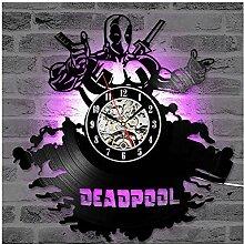 ZhangXF Deadpool LED Luminous Vinyl Records