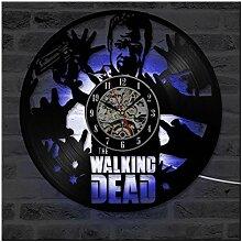 ZhangXF Walking Dead Design Vinyle Horloge Murale,