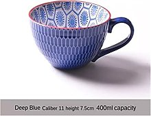 ZHANGZHI Céramique peinte tasse de café tasse
